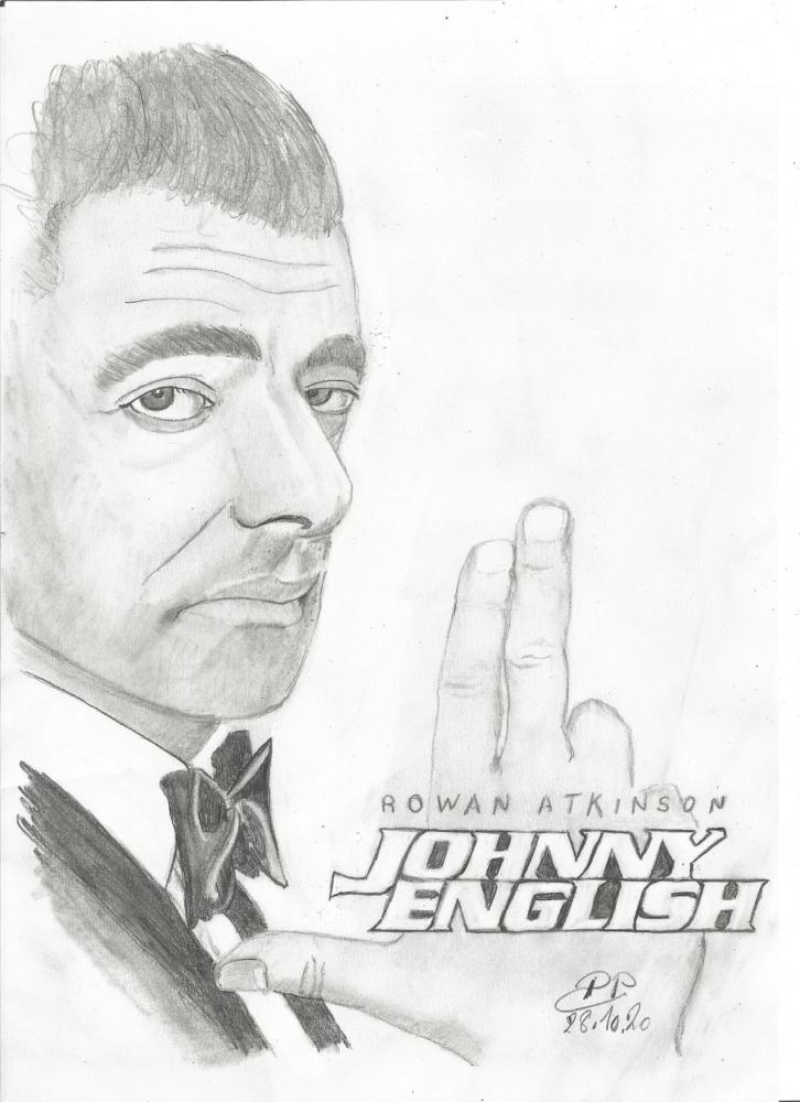 Rowan Atkinson by Patoux